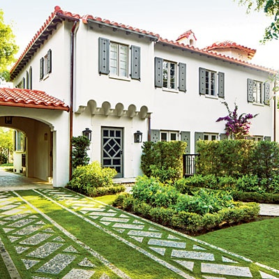Spanish colonial style homes images Colonial home builders